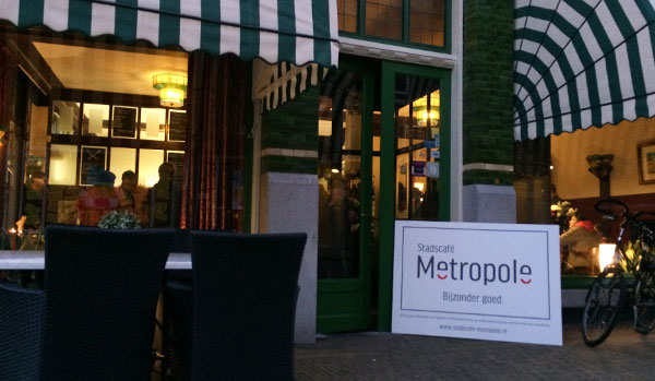 Heropening Stadscafé Metropole 6 februari 2015 Stichting Syndion