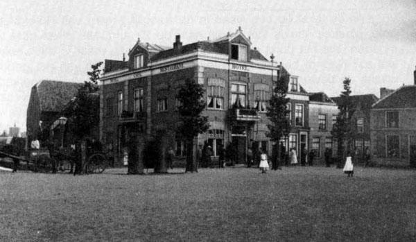 Hotel van Andel Gorinchem Melkpad 1890