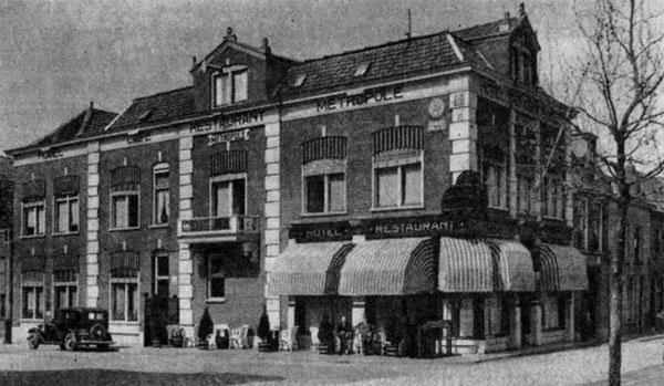 Hotel van Andel Gorinchem Melkpad 1930